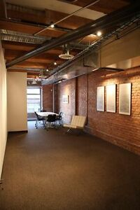 Trendy open space office in prime Yaletown location