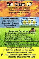 Fall Clean Up and Snow Removal