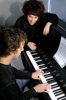 Piano - Cours privés - Professeure Marie Lacourcière