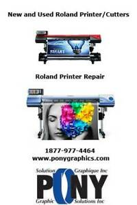 Roland Printer/Cutter Service and Supplies