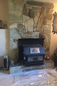 black pine hearth heater fireplace insert