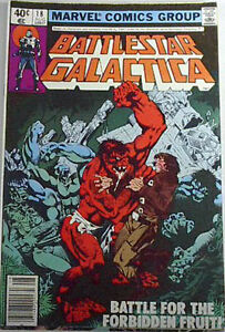 1979 Battlestar Galactica Marvel Comic Book #18
