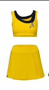 Star Trek TOS Two-Piece ladies Swimsuit- Size XL