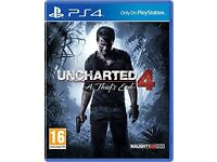 Ps4 game Uncharted 4 Brand New&Sealed