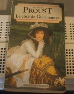 5 livres de Marcel Proust littérature (Peux poster)Prix pour lot