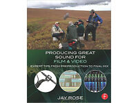 Attention all film- and video sound producers, this is the book for you!
