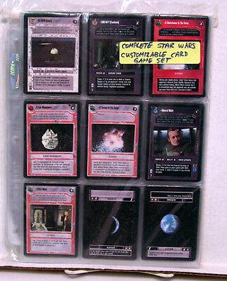 1995 Star Wars CCG Black Border Card Set-324 Cards