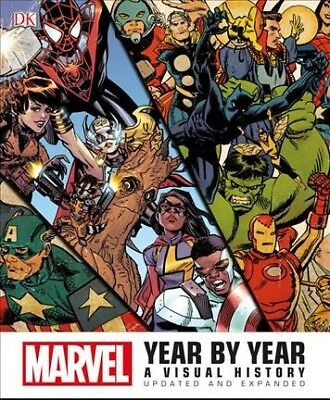 Marvel History - Marvel Year by Year : A Visual History, Hardcover by Marvel (COR); Lee, Stan ...