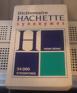 Dictionnaire Hachette synonymes (24000 synonymes)