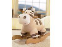 Tess Toys - Mamas & Papas Zeddy Zebra Rocker RRP £72 Bargain Only £20 ONO Lovely Christmas Gift ONO