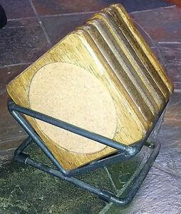 Rustic 6 Piece Coaster Set