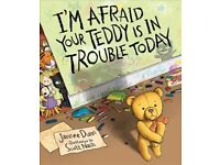 BRAND NEW books, Magnificent birds, your teddy is in trouble today
