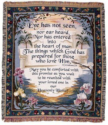 Simply Home Heavenly Home Tapestry Throw - Heavenly Home