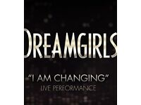 2 x Dreamgirls musical tickets, row B in the stalls, amazing seats, amazing view