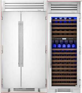 https://aniks.ca/ True Built-In 42 Refrigerator and  30 Built-In WINE COLUMN TR42SBSSSB-TR30DZWRSGA