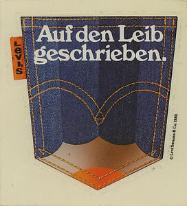 Original Sticker: Levi's