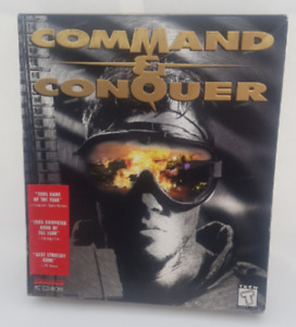 Command & Conquer PC Game Series BIG BOX Versions