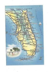 Florida Map EBay - Rare old maps for sale