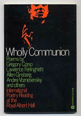 Allen GINSBERG / Wholly Communion International Poetry Reading at the Royal 1st - Communion Verse
