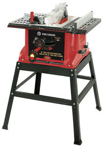 10 INCH TABLE SAW WITH STAND