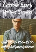Academic Essay Writing Services !!