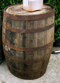 Solid Oak barrel