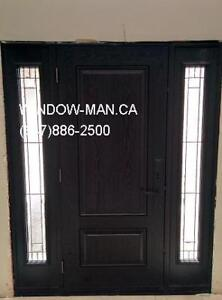 Entry Replacement Fiberglass Exterior Door  Top Quality