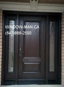 Replacement Door Fiberglass Exterior Entry  supplier and install