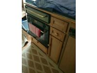 Caravan Stoves Oven, Grill, Hob and 3way Fridge SPARES OR REPAIR