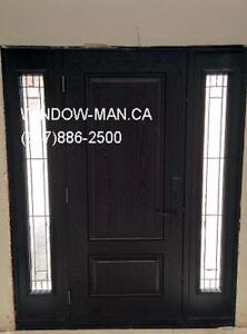 Fiberglass Exterior Replacement Entry Door  Installation