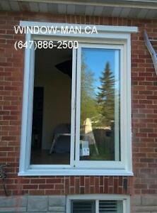 brick egress sliding door concrete windows Cut  Quality product
