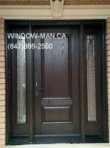 Entry Exterior Replacement Door Fiberglass  Top Quality