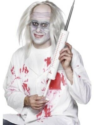 JUMBO SYRINGE MENS LADIES DOCTORS AND NURSES HALLOWEEN FANCY DRESS ACCESSORY - Doctor And Nurse Halloween