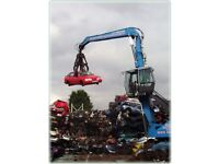 £ WE BUY ALL SCRAP CARS FOR THE BEST PRICE £