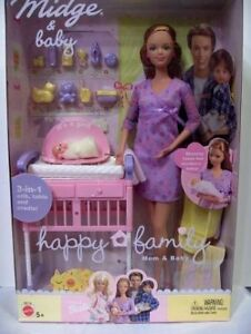 Barbie Happy Family Midge and Baby