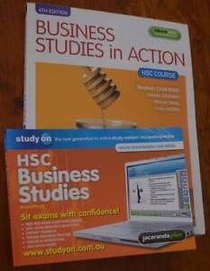 BUSINESS STUDIES IN ACTION + STUDY ON HSC EXAM PRACTICE BOOKLET Port Macquarie Port Macquarie City Preview
