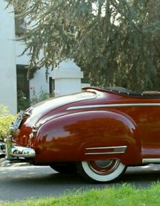 1949 Plymouth Fender Skirts New Steel Nice Wow