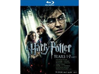 Harry potter films 1-8 BLU-RAY boxset