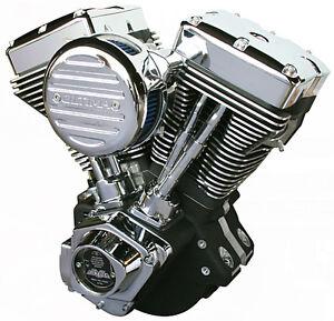140 Black Ultima evo engines, Bagger belt drive, shovelhead jugs