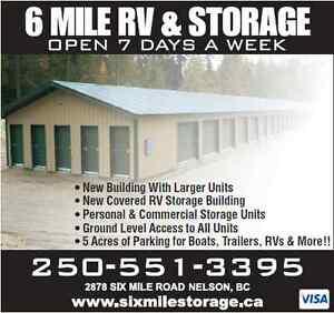 Six Mile RV & Storage