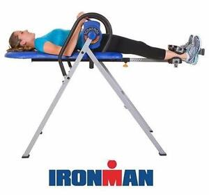 USED* IRONMAN 5600 INVERSION TABLE  iCONTROL DISK BRAKE SYSTEM 400 EXERCISE EQUIPMENT FITNESS TRAINING WORKOUT 97014612