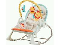 Fisherprice rainforest swing
