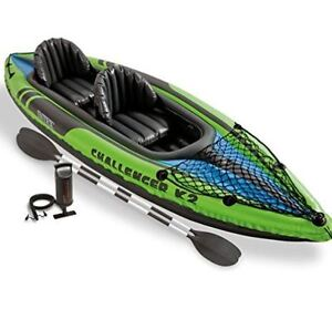 New in box 2 person inflatable kayak