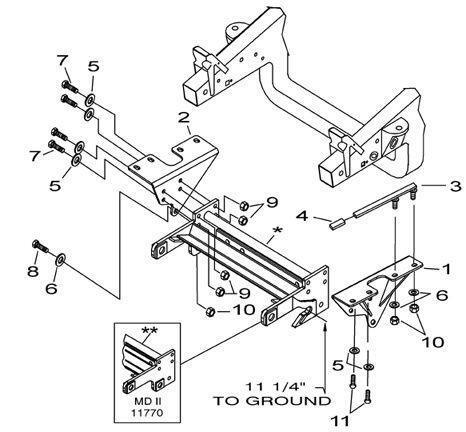 Meyer Plow Mount Diagram