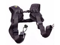 Dual Camera Shoulder Strap for Quick Shooting **Brand New**