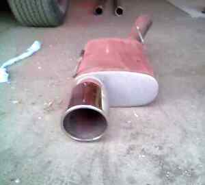 GT mustang magna flow exhaust from the h pipe back 350$ bo