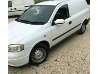 Vauxhall astra van 1,7 TD