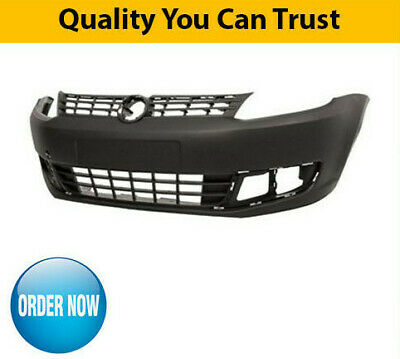 2011-2015 VW Caddy Front Bumper Black Textured High Quality New