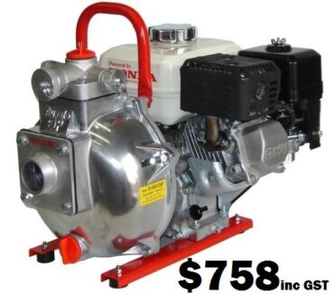 """Fire Pump - QP205SE """"Fire Chief"""" 5.5HP Honda GX160 Wingfield Port Adelaide Area Preview"""