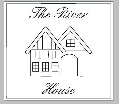 The River House Sticker, Bedruk & Borduurstudio